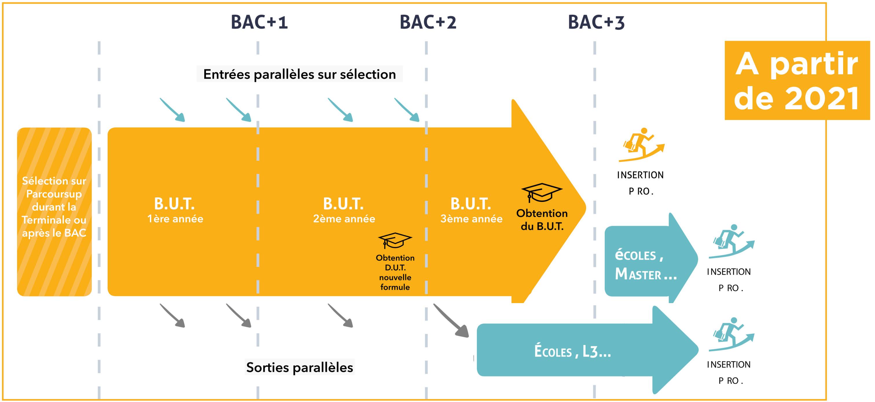 Nouveau schéma d'études en IUT
